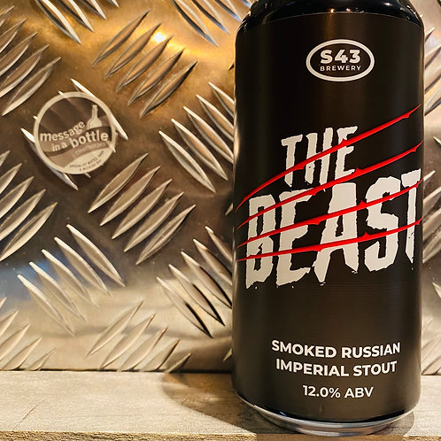 S43 🇬🇧 THE BEAST : Smoked Russian Imperial Stout
