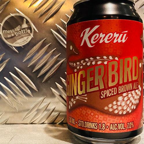 Kereru 🇳🇿 GINGER BIRD : Spiced Brown Ale