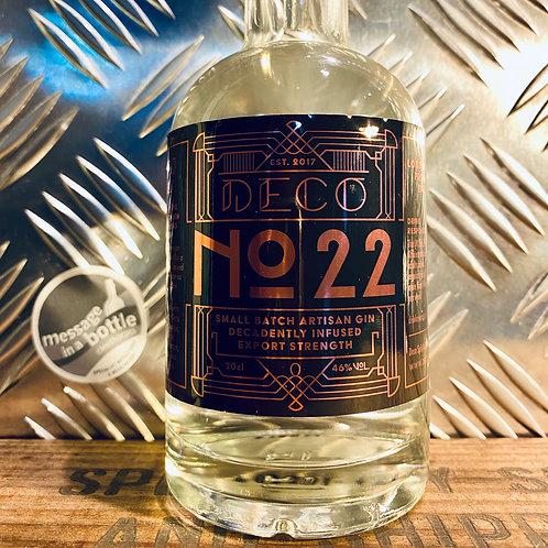 Deco Spirits - Deco No. 22 : london dry / lincolnshire gin
