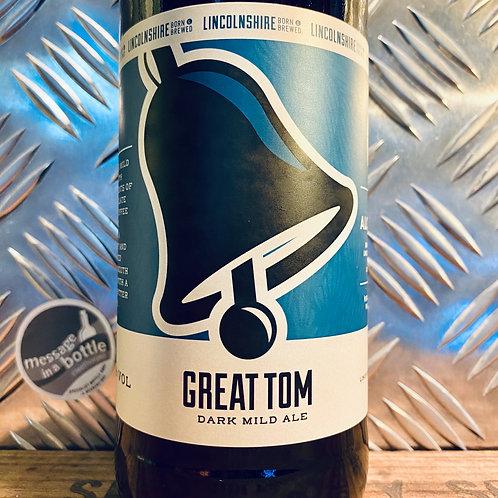 Lincolnshire Brewing Co 🇬🇧 great tom : dark mild ale