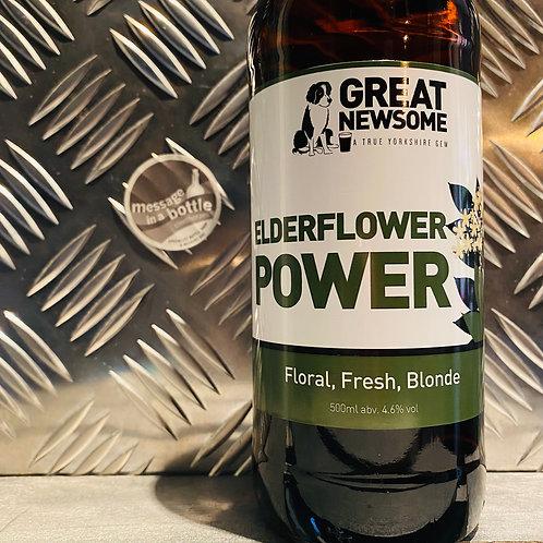 Great Newsome 🇬🇧 ELDERFLOWER POWER : Floral, Fresh, Blonde Beer