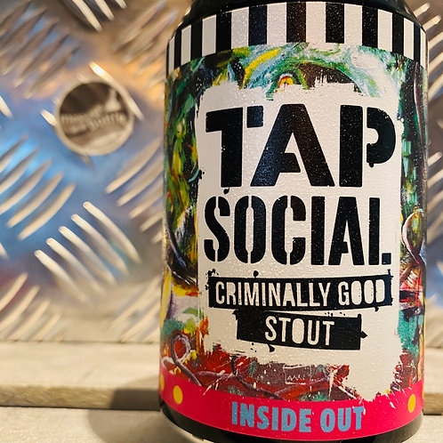 TAP SOCIAL 🇬🇧 INSIDE OUT : criminally good oatmeal stout