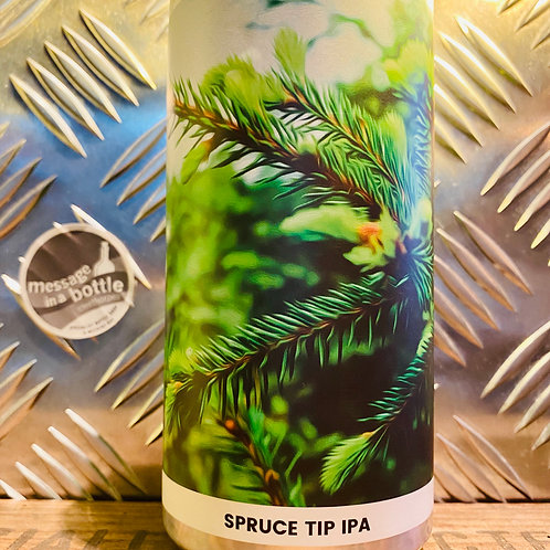 Alefarm Brewing 🇩🇰 now is the time : spruce tip ipa / ddh india pale ale