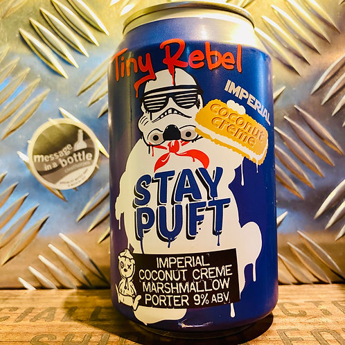 Tiny Rebel 🇬🇧 stay puft : imperial coconut creme marshmallow porter