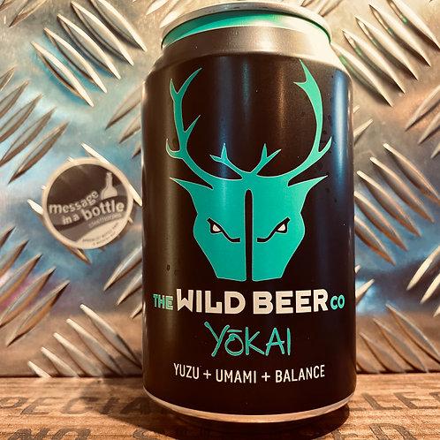 Wild Beer 🇬🇧 yokai / yōkai : yuzu + umami + balance
