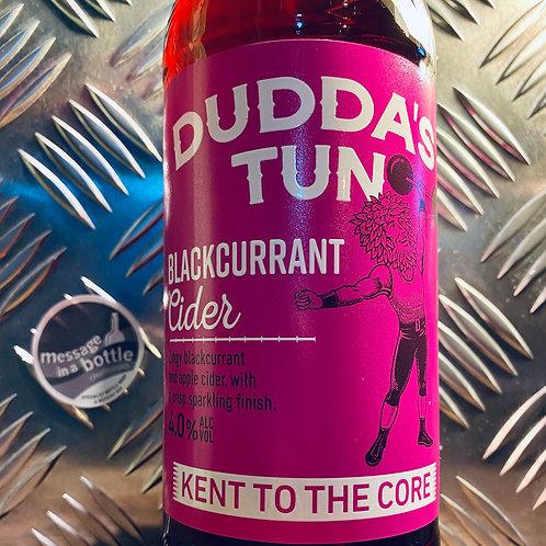 Dudda's Tun Cider 🇬🇧 sparkling blackcurrant cider