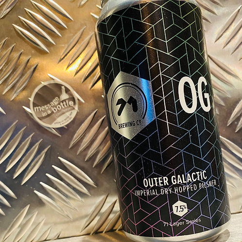 71 Brewing Co 🇬🇧 OUTER GALACTIC : Imperial Dry Hopped Pilsner / Lager