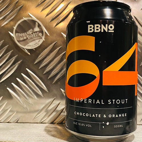 Brew By Numbers / BBNO 🇬🇧 64 : IMPERIAL STOUT / Chocolate Orange