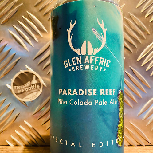 Glen Affric 🇬🇧 PARADISE REEF : piña colada pale ale 🍍 special edition 🥥