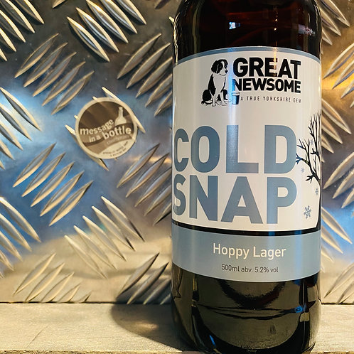 Great Newsome 🇬🇧 COLD SNAP ❄️ Hoppy Lager
