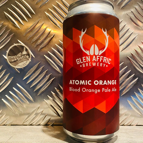 Glen AFFRIC 🇬🇧 ATOMIC ORANGE : Blood Orange Pale Ale