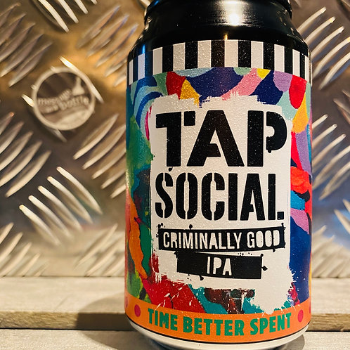 TAP SOCIAL 🇬🇧 TIME BETTER SPENT : criminally good (American style) ipa