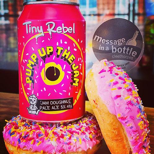 Tiny Rebel 🇬🇧  pump up the jam 🍩 jam doughnut pale ale