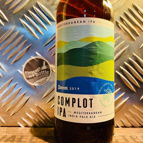 Damm Brewery 🇪🇸 complot ipa : mediterranean india pale ale