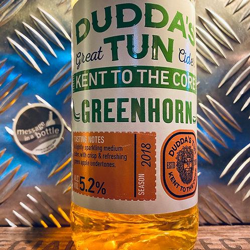 Dudda's Tun Cider 🇬🇧 greenhorn : lightly sparkling medium apple cider