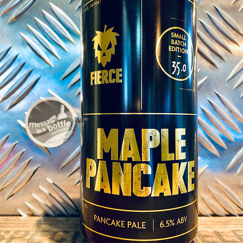 Fierce Beer 🇬🇧 MAPLE PANCAKE 🥞  Canadian Maple Syrup & Pancake Pale Ale