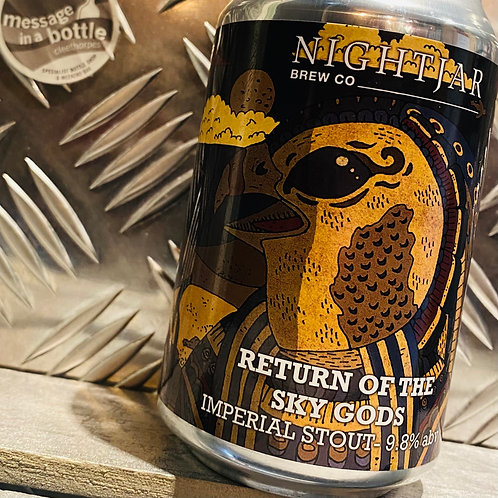NIGHTJAR Brew Co. 🇬🇧 RETURN OF THE SKY GODS : Imperial Stout