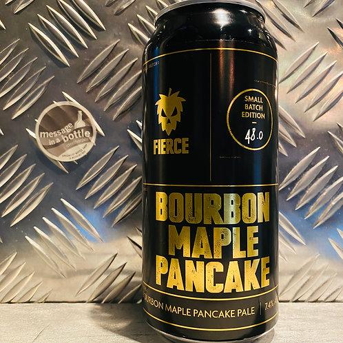 Fierce Beer 🇬🇧 BOURBON MAPLE PANCAKE PALE ALE 🥞 Small Batch 48.0