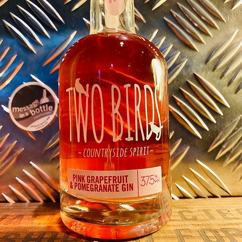Two Birds Spirits 🇬🇧 pink grapefruit & pomegranate gin : 200ml bottle
