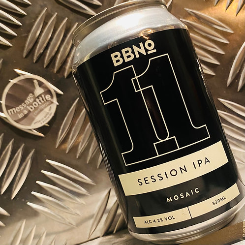 Brew By Numbers / BBNO 🇬🇧 11 / Session IPA : Mosaic
