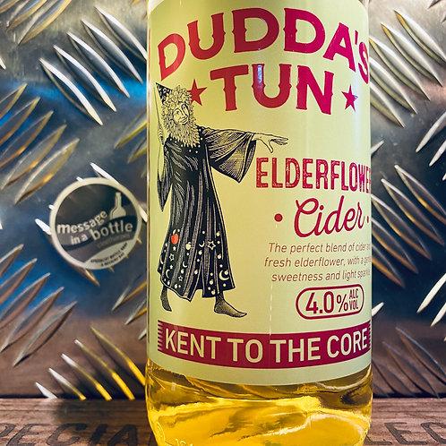 Dudda's Tun Cider 🇬🇧 lightly sparkling elderflower cider