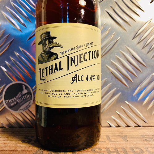Lincolnshire Brewing Co 🇬🇧 lethal injection 💉 dry-hopped pale ale