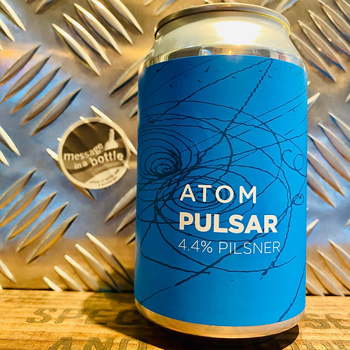 Atom Brewing Co 🇬🇧 PULSAR : pilsner / lager