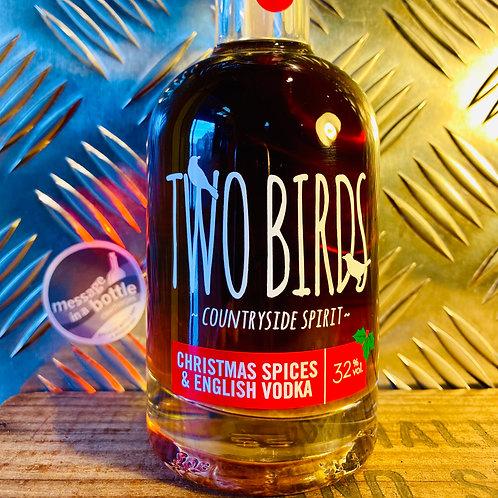 Two Birds - christmas spices english vodka : 200ml vodka