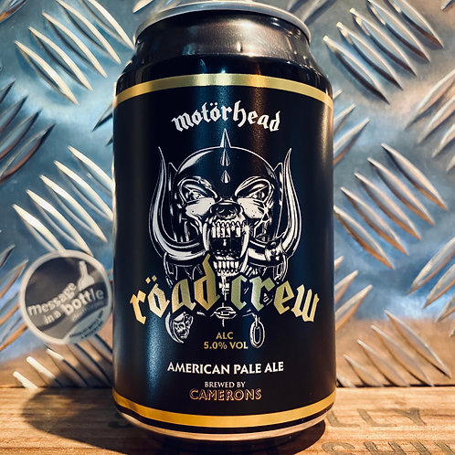 Motorhead X Camerons 🇬🇧 ROAD CREW american-style pale ale