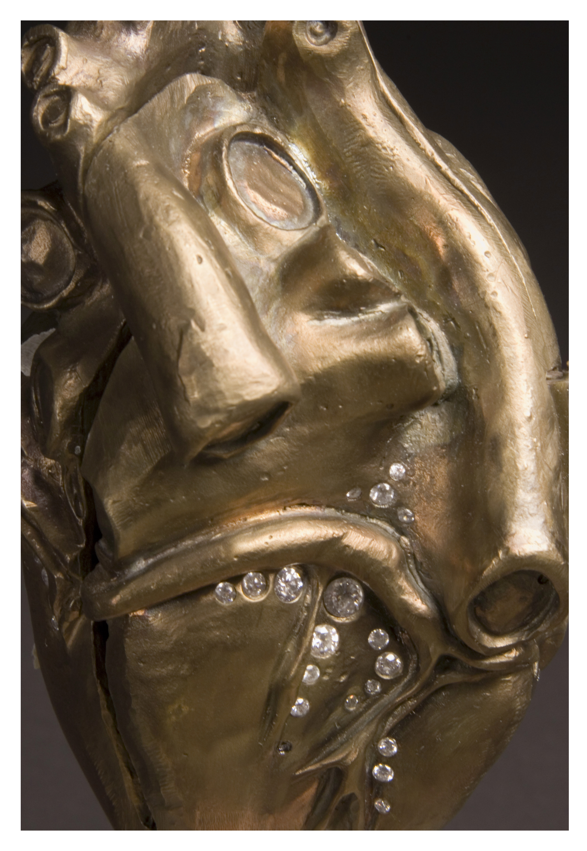 Gilded Heart (Detail)