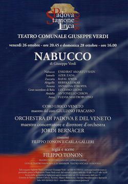 Nabucco Padova Leoni