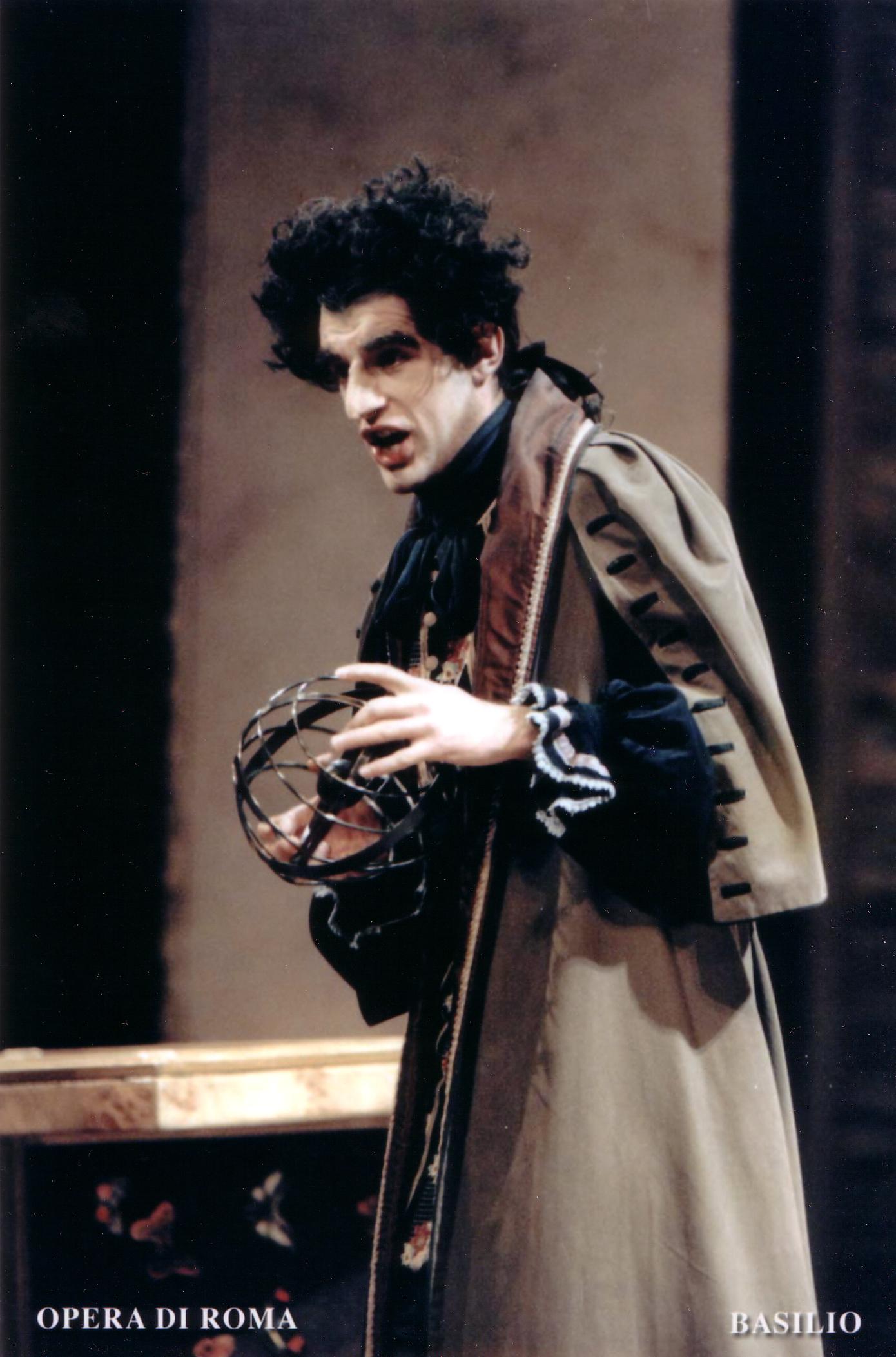 Basilio,Opera di Roma.