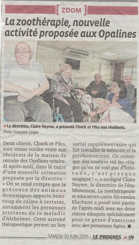 Teena&Co, Médiation Animale Loire, Opaines Saint-Chamond