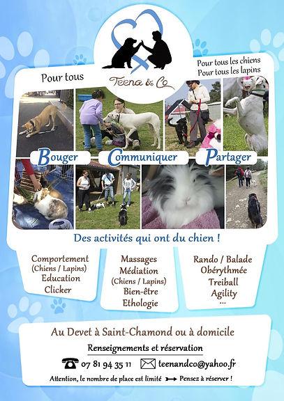 Education Canine et activités canines dans la Loire