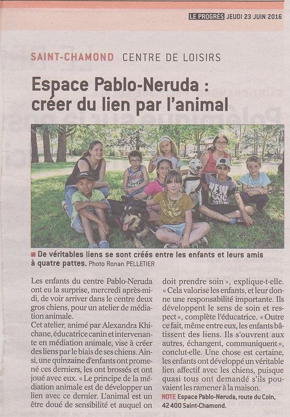 Teena&Co, Médiation Animale Loire,  Tenir une laisse, Créer du lien
