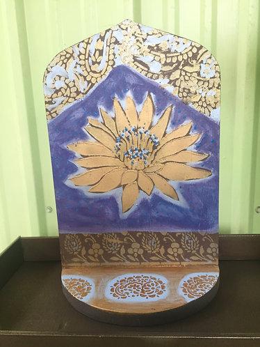 Dark blue Lotus Altar