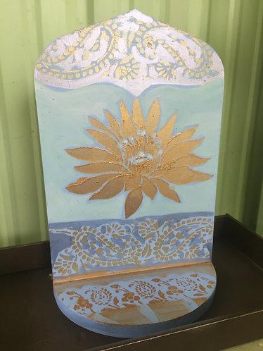 Pale colored Lotus Altar