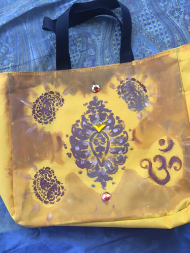 Canvas Bag golden yellow
