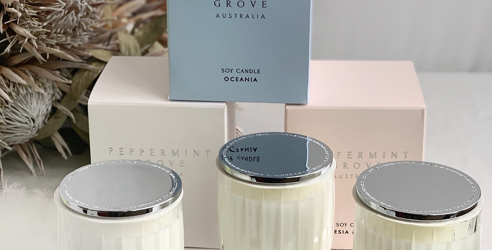 PEPPERMINT GROVE CANDLES