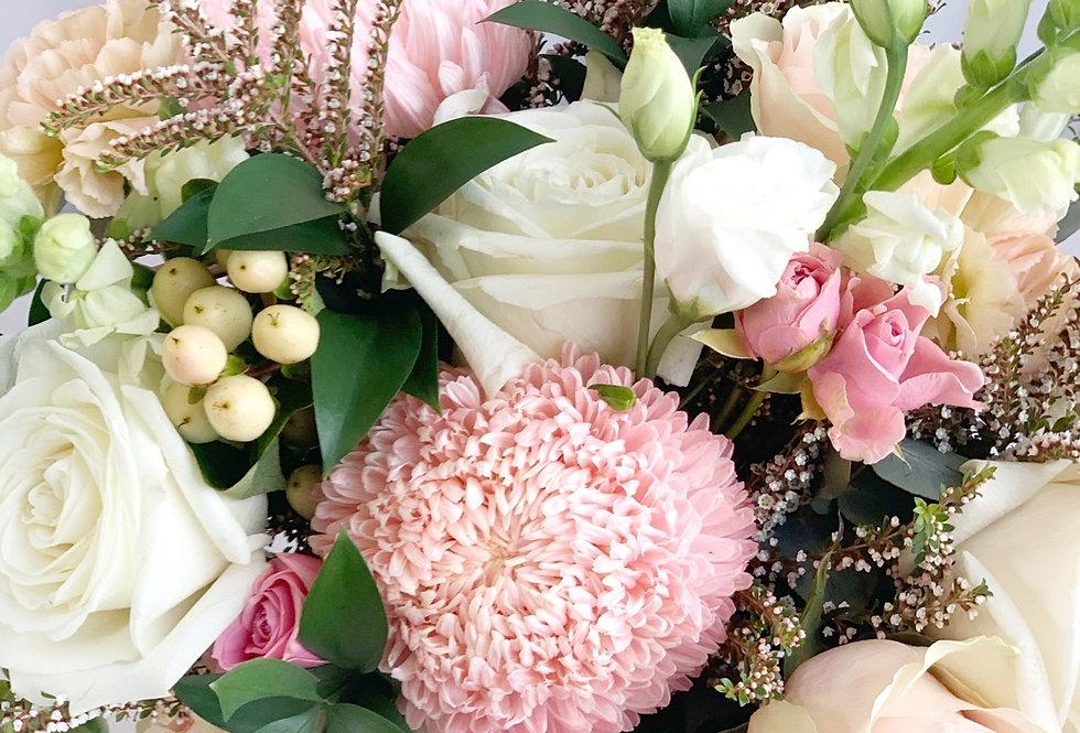 Pastel - Mixed Seasonal Hand Tied Bouquet