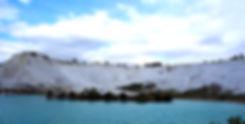 トルコの世界遺産 パムッカレ(綿の城)
