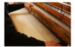 世界で一枚目のブルダン織り 手織りパイルのタオルケット <シングルサイズ>