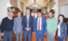 ブルダン行政長 ムラット知事・オメル教育長と共に昼食会