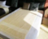 Moana Puente限定 手織りのパイル地タオルケット/トルコ ブルダン織り