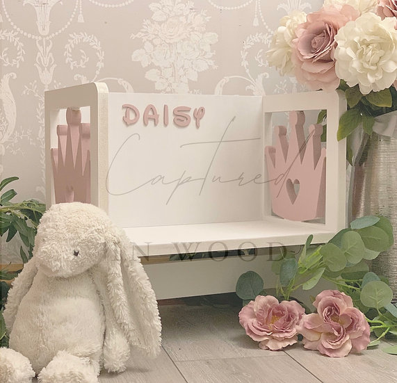 CHILDRENS PERSONALISED WOODEN CHAIR