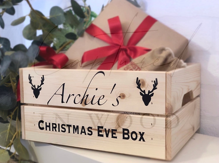 PERSONALISED CHRISTMAS EVE BOX CRATE