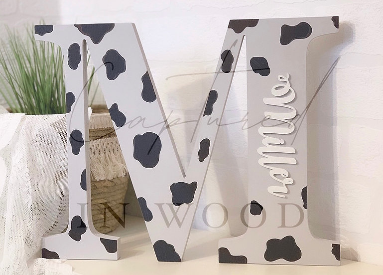 LARGE PERSONALISED LETTERS (30CM)