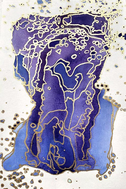 Talisman: Blue and Purple I