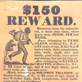 Fugitive Slave Advertisement