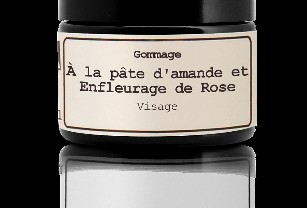 Exfoliannte a la pasta de Almendra y enflorado de rosa, Cara,  Hévéa